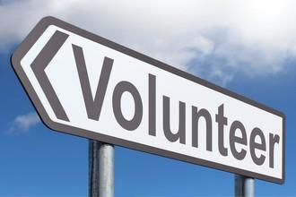Post cover volunteer