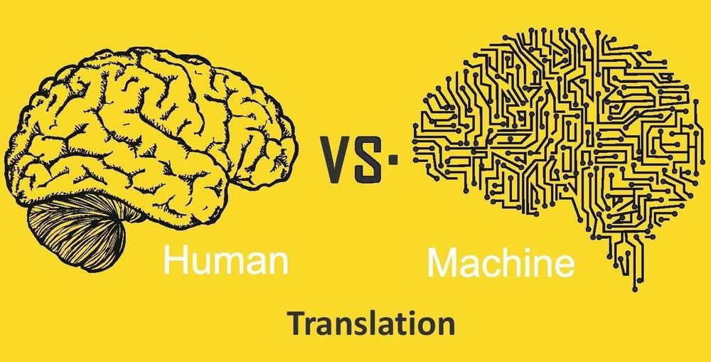 Content human vs machine translation